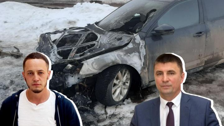 Противник Путина в Башкирии обвинил в поджоге своей машины районного главу: «Ты перешел границы»