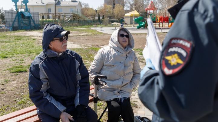 Рыбалка и пикники тоже под запретом: волгоградцев массово штрафуют за прогулки по городу
