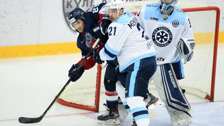 Второе поражение: ХК «Сибирь» проиграл нижегородскому «Торпедо»