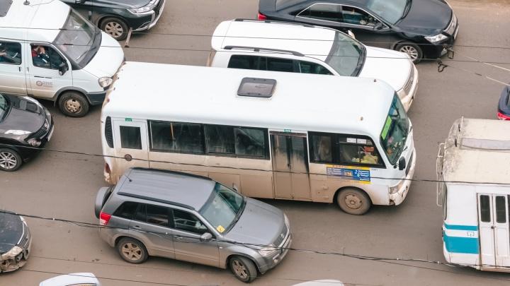 В Самаре автобусы пустят в объезд Ново-Вокзальной