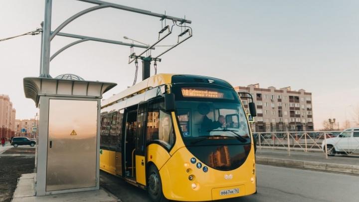 В Самаре отменили электробус до Южного города