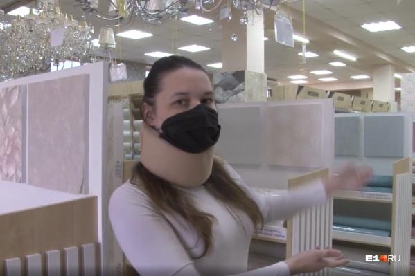 После нападения у Валентины Вязьминой смещен шейный позвонок