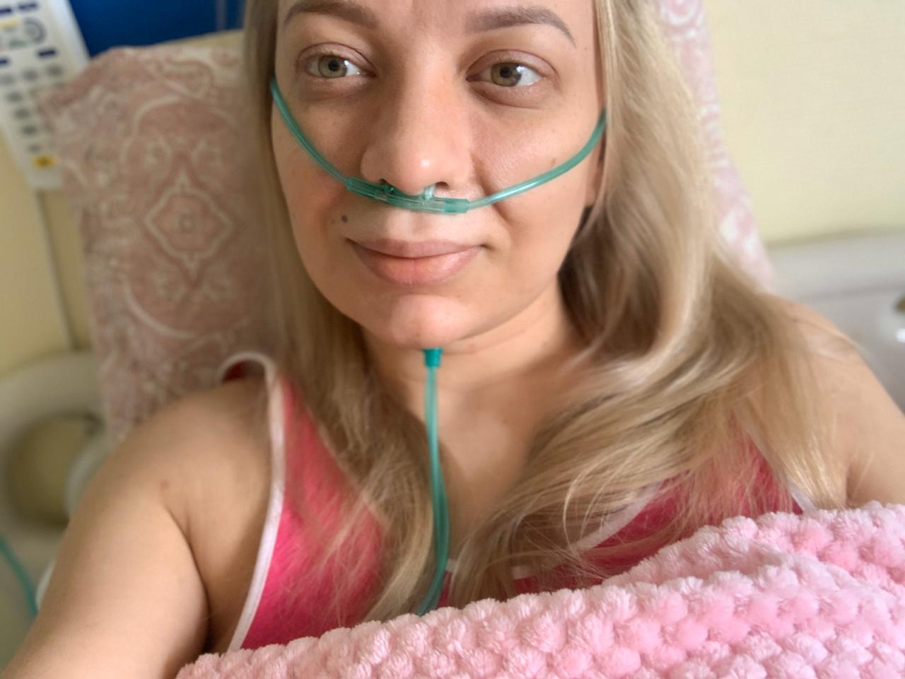 Варвара Оконечникова в больнице имени Боткина