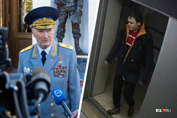 Владимира Таушанкова (на фото справа) застрелили в собственной квартире на ЖБИ