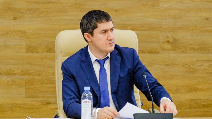 Интервью с врио губернатора Прикамья Дмитрием Махониным в прямом эфире — транслируем видео