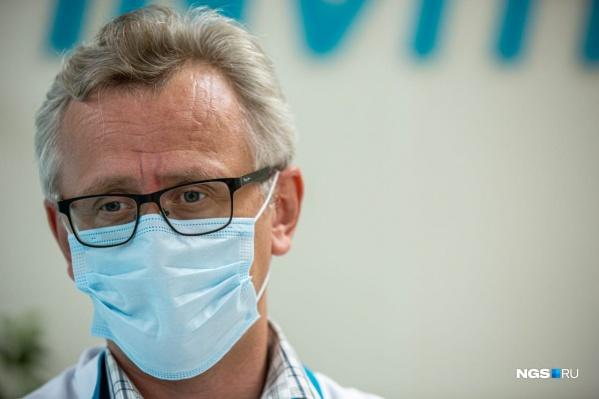 Андрей Поздняков говорит, что чаще всего новосибирцы сдают тест на коронавирус, а не проверяют наличие антител в крови