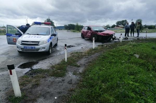 Авария произошла в Чебаркульском районе прошлым летом