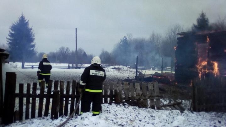 В Енисейском районе взрослые и дети спасли от пожара деревню