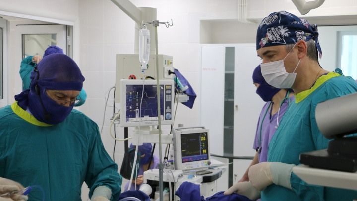 У тюменского младенца участок кишки сложился, как телескоп
