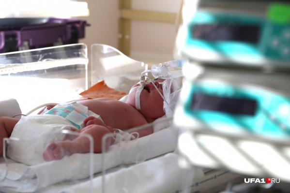 У женщины остался новорожденный ребенок