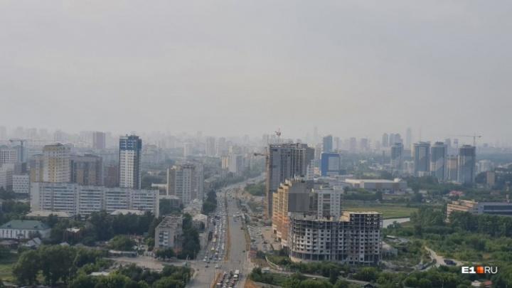 От «Денежкиного Камня» столько дыма бы не было: почему Екатеринбург накрыло смогом