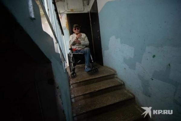 Александр Беляев потерял ногу и теперь учится жить по-новому