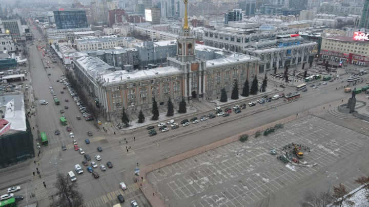 Екатеринбуржцам рассказали, каким будет «ковидный» ледовый городок