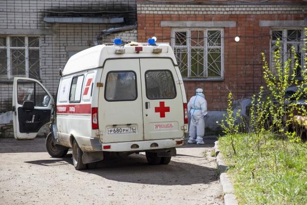 В COVID-больницы в Ярославской области попали824 пациента