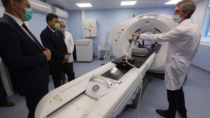 В свердловском онкодиспансере открыли центр лучевой диагностики, где будут выявлять ранние стадии рака