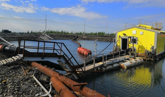 После слива отходов в Норильске уволено руководство Талнахской обогатительной фабрики