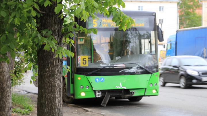 В Архангельске изменили движение автобусные маршруты № 5 и 64