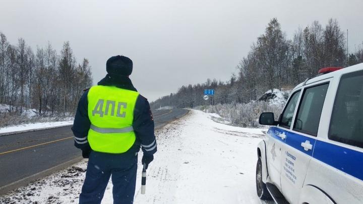«Тойота» влетела в экскаватор у Берёзовки: жуткие кадры с места аварии