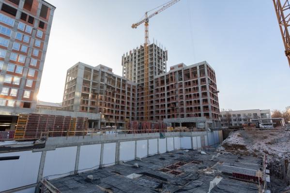 Новый элитный проект строят в самом центре Екатеринбурга