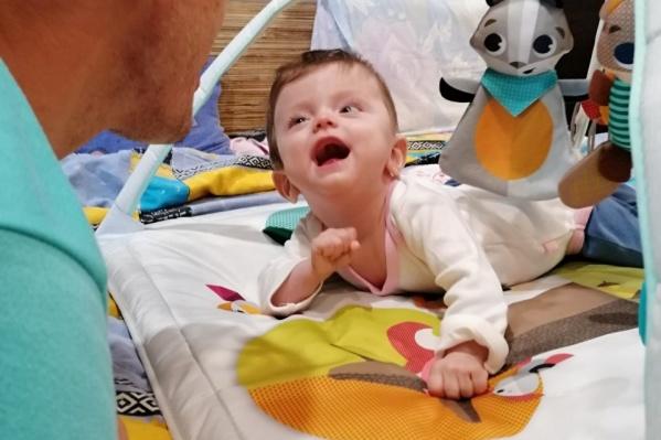 Малышке было два года и три месяца