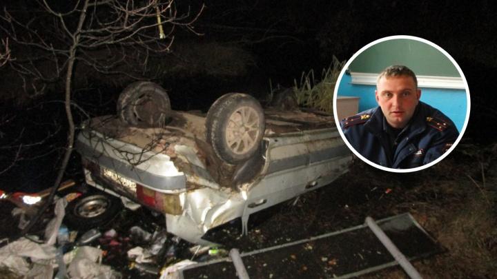 Нижегородский полицейский спас многодетного отца, зажатого в автомобиле