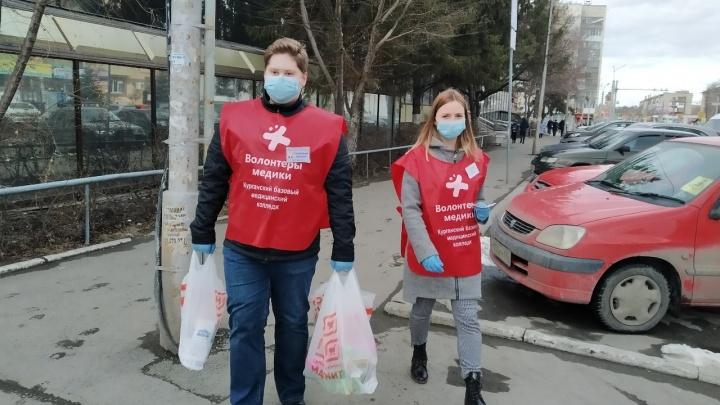 В Зауралье волонтёры в период пандемии коронавируса будут помогать пожилым людям