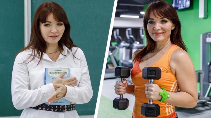 «Знали бы вы, сколько пота вложено в мою хорошую генетику»: учительница из Волгограда в 40 лет стала фитнес-тренером