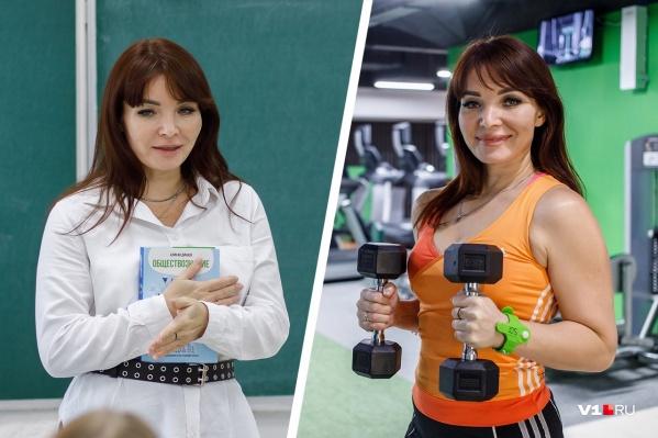 Инна Яваева мама троих детей, учитель обществознания, а еще фитнес-тренер