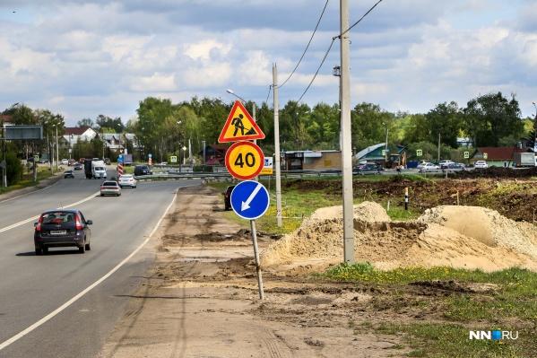 Развязку в Ольгино должны сдать через год