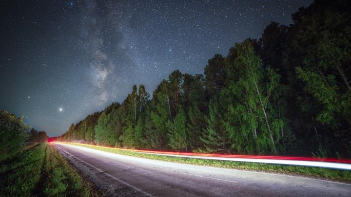 Екатеринбургский фотограф съездил на Южный Урал, чтобы сделать потрясающие фото Млечного Пути