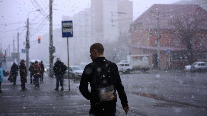 В начале следующей недели в Омске поднимется штормовой ветер и пойдёт снег