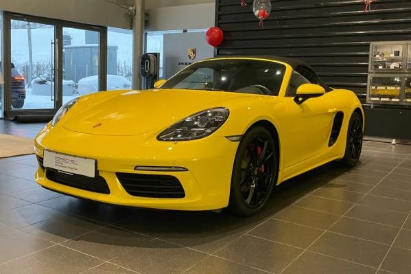 Porsche Boxster наездил 6,3 тысячи километров у одного владельца