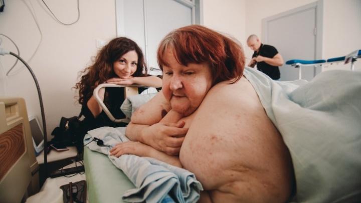 Минус 100 кило, ремонт и девушка сына: новую жизнь толстой тюменки показали в шоу Малахова