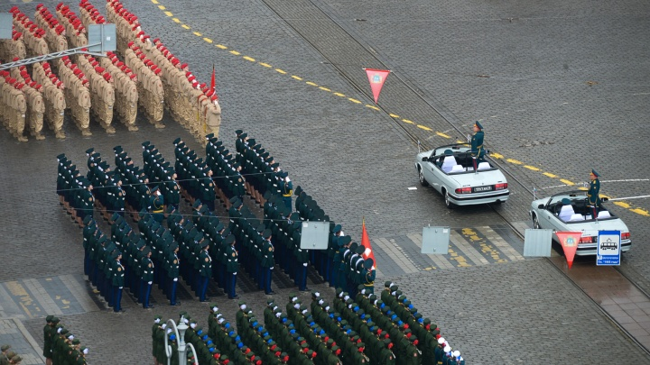 Весь парад Победы в одной картинке. Показываем схему главного события недели в Екатеринбурге
