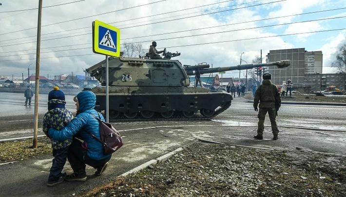 В Екатеринбурге снова перекроют улицы из-за репетиции парада: публикуем схему