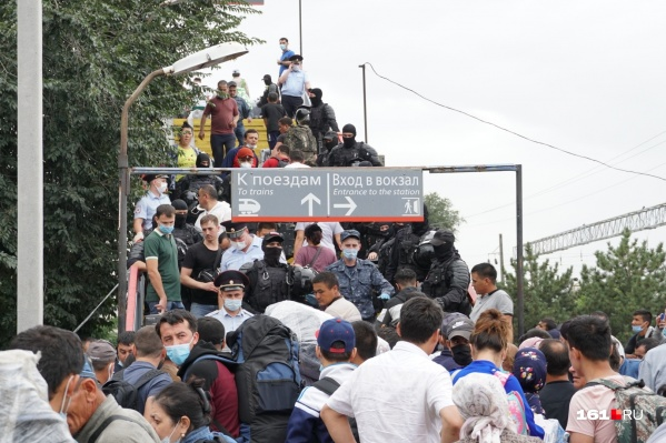 Поезд должен отправиться из Ростова 8 сентября в час дня — мест там только на 900 человек