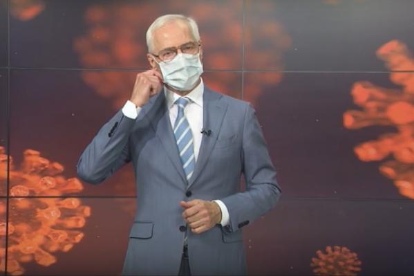 Николай Ренц призвал жителей носить маски
