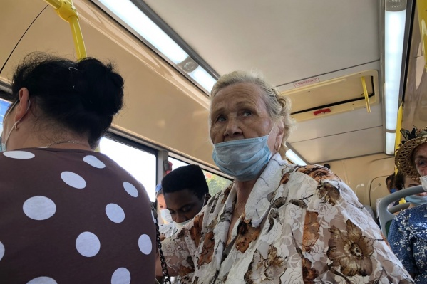 С 8 июля в регионе запрещено ездить в автобусе без масок
