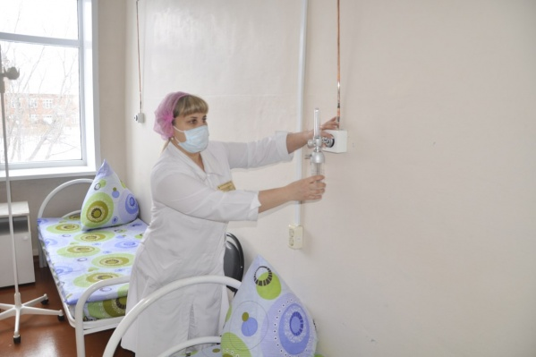 Ковидное отделение в Любинской ЦРБ должно заработать на днях