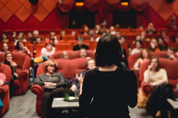 Киноклуб «Нефть» часто выступал не только в роли кинопрокатчика, но и был дискуссионной площадкой