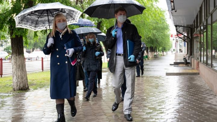 В Волгограде и области отловлено 497 человек без масок, перчаток и разрешений на прогулку