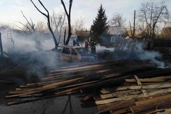 Жительница сгоревшего дома уверена, что это поджог