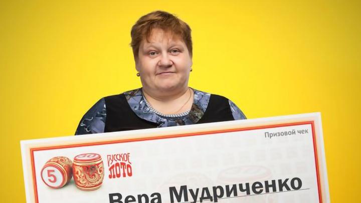 Играет в лотерею со времен СССР: пенсионерке из Архангельской области достался 1 млн рублей