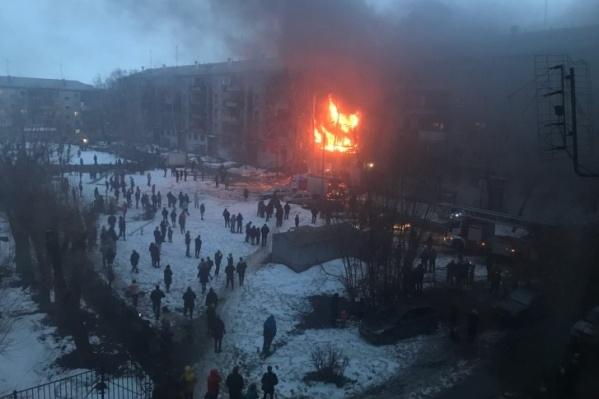 Во время взрыва в пятиэтажке ребёнок получил глубокие ожоги