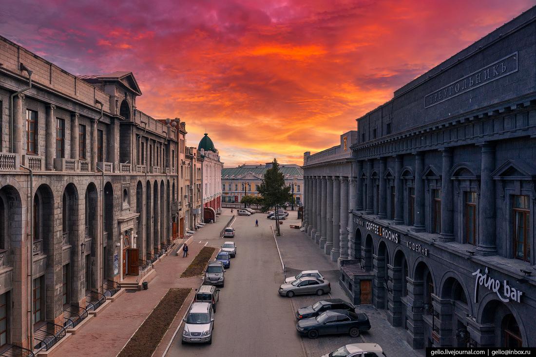 Кусочек Санкт-Петербурга в самом центре Омска