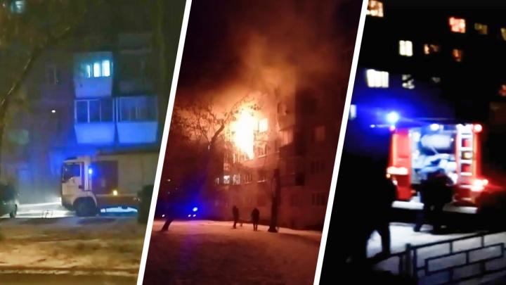 «Люди перелазили с балкона на балкон»: в Екатеринбурге пожар унес жизнь 74-летнего пенсионера