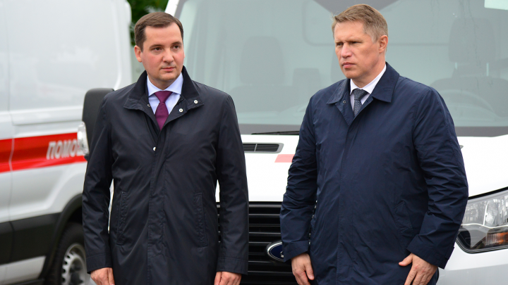Министр здравоохранения РФ обсудил с врио губернатора Архангельской области проблемы медицины