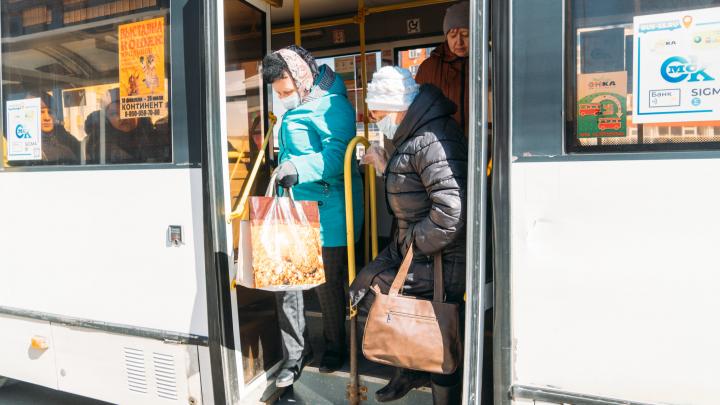 В Омской области ужесточили масочный режим: в транспорт без повязки не пустят