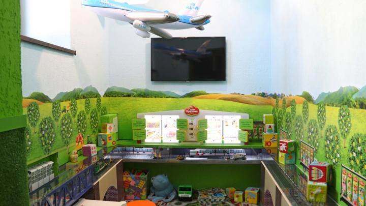 «Сады Придонья» создали игровую комнату для детей