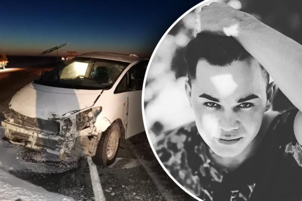 25-летний Руслан погиб в ДТП в Барабинском районе